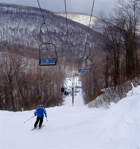 blue knob resort firsthand report peak time at blue knob
