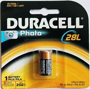 2PC Duracell PX28L 6V Lithium Battery 2CR11108 L544 - Made ...