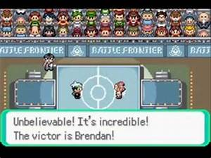 Pokemon Emerald Battle Frontier - Dome Ace Tucker (Silver ...