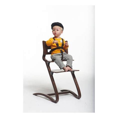 chaise haute leander harnais de sécurité chaise haute leander univers bébé