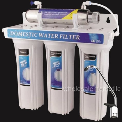 Uv Light Water Filter by Uv Ultraviolet Light Water Filter System 4 Stage