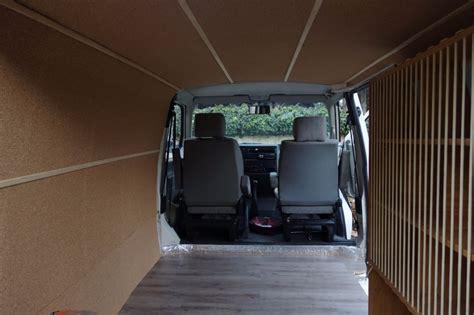 van ceiling walls panel installation conversion guide