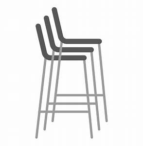 Mini Tabouret Bois : tabouret snack kwatro mini en bois finition noyer ~ Teatrodelosmanantiales.com Idées de Décoration