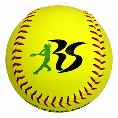 Softball Transparent Baseball Clipart Fastpitch Speed Leather