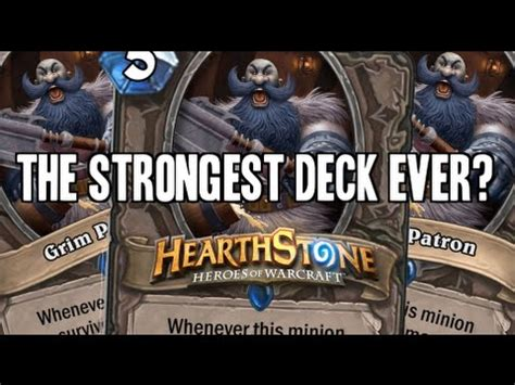[hearthstone] The Strongest Deck Ever? Warrior