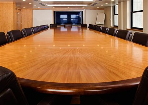 veneer racetrack boardroom table large boardroom table