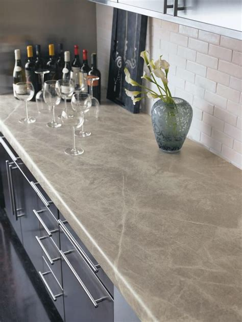 Inexpensive Kitchen Countertops by Formica Soapstone Sequoia Countertops White Subway Tile