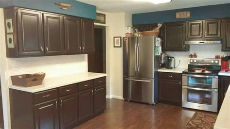 milk painted kitchen cabinets cabinets painted in general finishes chocolate milk 7503