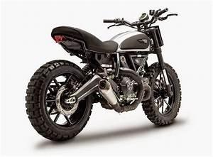 Ducati Scrambler Dirt Track Concept Is One Evil Machine ...