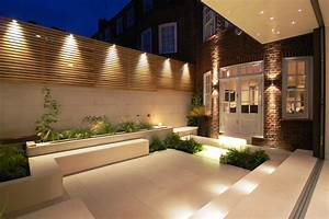 Minimalist garden lighting ideas outdoor