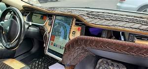 Crocodile Dundee Would Be Proud Of This Tesla Model S Custom Interior   Carscoops