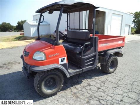 armslist for sale kubota rtv900 rtv 900 diesel 4x4 utv