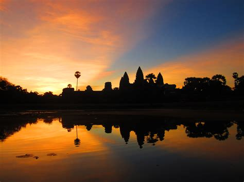 Catching A Sunrise Over Angkor Wat