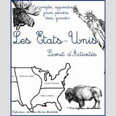 Livret D'activités  Les Étatsunis (+ Ressources Diverses) ⋆avenue Reine Mathilde
