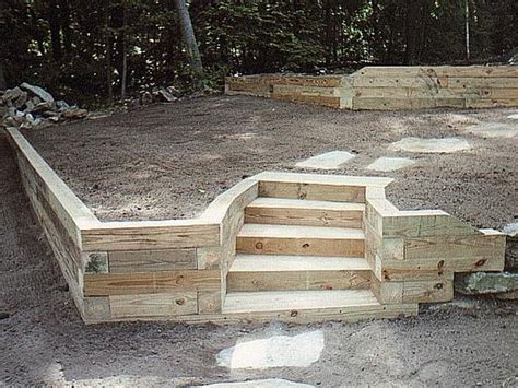 landscape timber retaining wall pictures backyard building landscape timbers landscaping