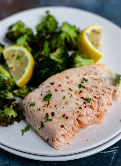 fryer air broccoli salmon recipe recipes fried easy dinner cook quick healthy airfryer cooked