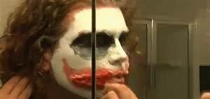 """How to Create Heath Ledger's Joker makeup from """"Batman ..."""