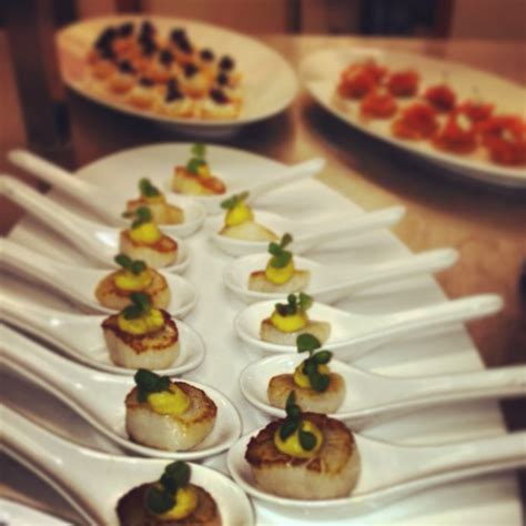cool canapes finger food catering