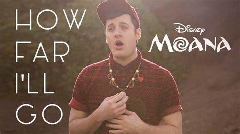"""Nick Pitera covers """"How Far I'll Go"""" from Disney's Moana"""