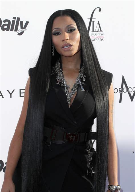 Nicki Minaj Long Straight Cut Nicki Minaj Hair Looks