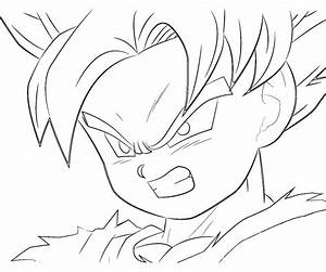 Goten Coloring Pages Coloring Pages