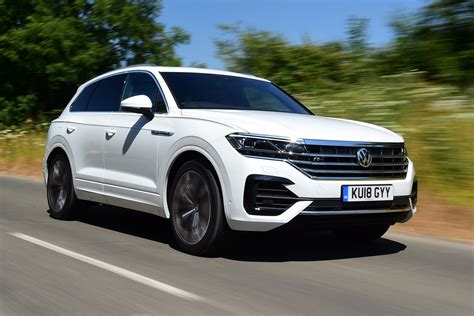 volkswagen touareg   review carbuyer