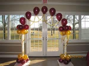 wedding arches in church wedding balloon decor amytheballoonlady