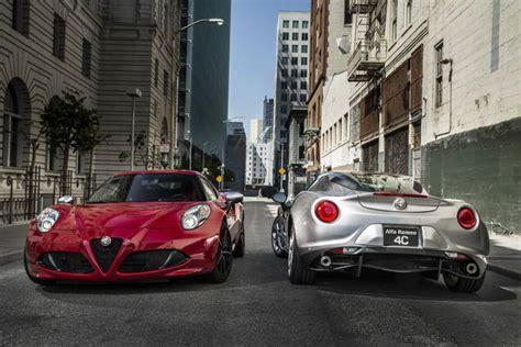 Alfa Romeo Usa 2014 by Alfa Romeo 4c Ecco La Versione Usa
