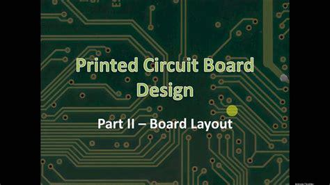 Skills Module Printed Circuit Board Layout Youtube