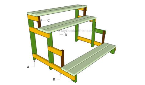 Patio Plant Stand Plans by Woodwork Plans For Outdoor Plant Stands Pdf Plans