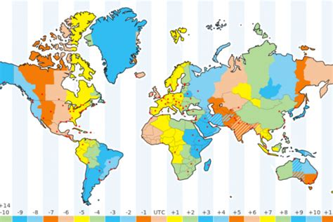 time zones world