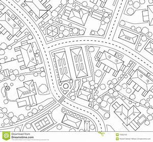 Neighborhood Outline Royalty Free Stock Photo - Image ...