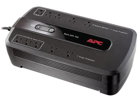 apc be750g back ups 750 va 10 outlet uninterruptible power supply ups replaced by be850m2
