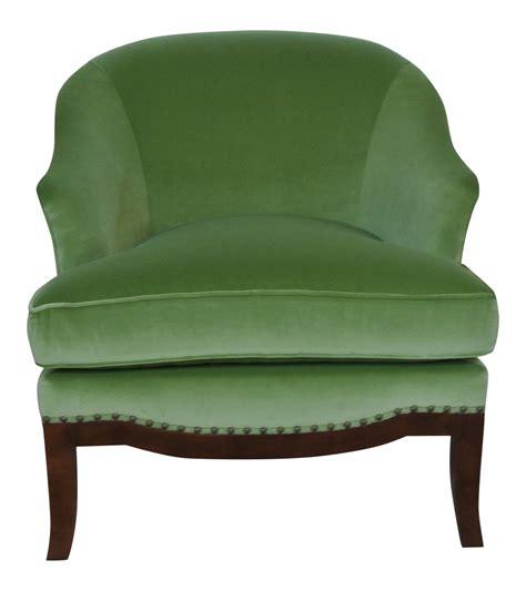 Green Velvet Accent Chair Chairish