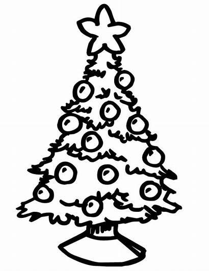 Coloring Tree Christmas