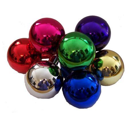 50 mm glass balls assorted decorative picks picks