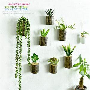 New arrival d wall tree stump plants imitation flower