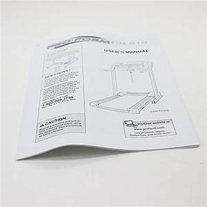 Treadmill Owner U0026 39 S Manual 174882 Parts