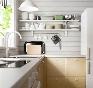 Ikea Haken Küche : metod k che u a mit ringsk r einhand mischbatterie in wei und v rde wandregal mit 5 haken in ~ Markanthonyermac.com Haus und Dekorationen