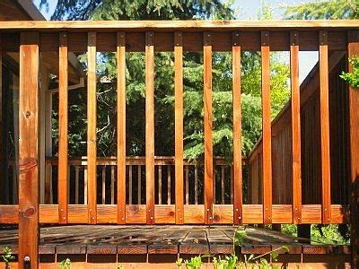 Wood Porch Railing Systems by 16 Types Of Deck Railing Design Ideas