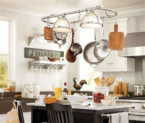 Hanging Pots and Pans for Decorating Your Kitchen   Sortrachen