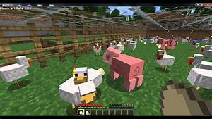 Minecraft - Animal Farm - YouTube