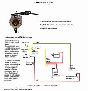 Ford 9n Wiring Diagram 12 Volt 1 Wire Alternator
