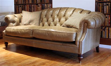 Traditional Leather Loveseat by Longleat Leather Sofa