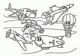 Transportation Coloring Pages Air Vehicles Toddlers Preschool Printables Funny Sheets Wuppsy Getcolorings Getdrawings sketch template
