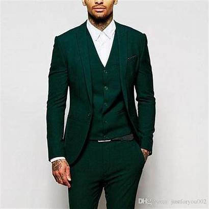 Dark Hunter Suits Formal Piece Groomsmen Suit