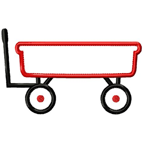 Wagon Clip by Wagon Clipart Black And White Clipground