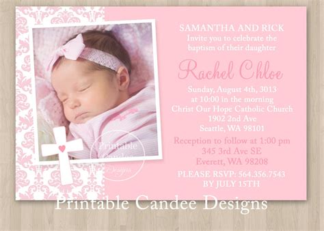 baptism invitation wording baptism invitation wording