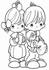 Precious Moments Coloring Pages Sheep Baby Sheet Template Angel sketch template