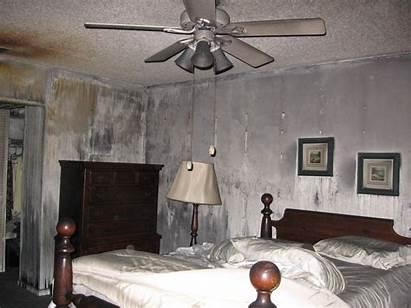 Damage Smoke Fire Restoration Bedroom Orange Before